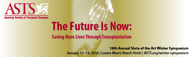 18th Annual Winter Symposium Loews Miami Beach Hotel January 11-14, 2018