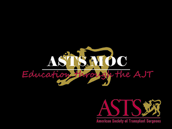 ASTS MOC Education Through the AJT
