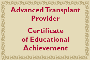 ATP Certificate of Educational Achievement